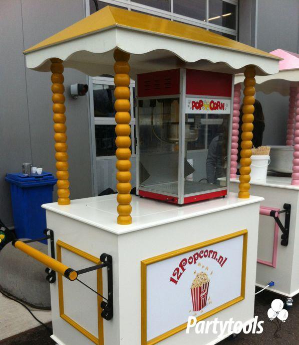 Popcornmachine huren in regio Rotterdam